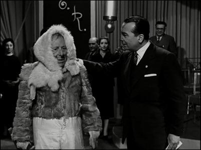 Isbert vestido de esquimal