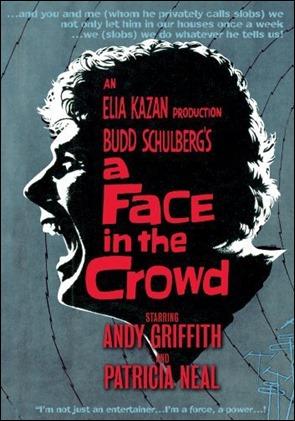 Poster de Un rostro en la multitud, uno de los peores Kazan