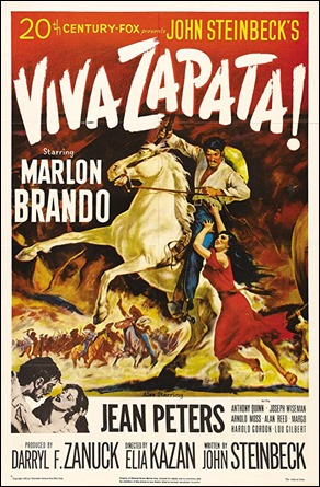 Viva Zapata, excelente trabajo de Kazan