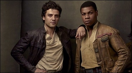 Finn y Poe, fieles amigos