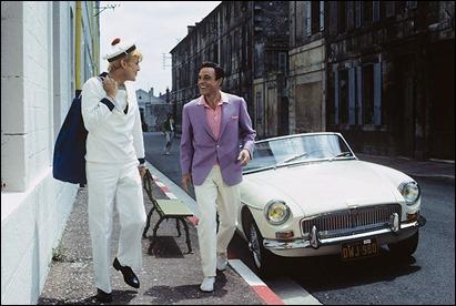 Jacques Perrin y Gene Kelly, en Las senoritas de Rochefort