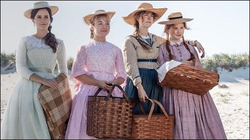Las cuatro hermanas March de la Mujercitas de Greta Gerwig
