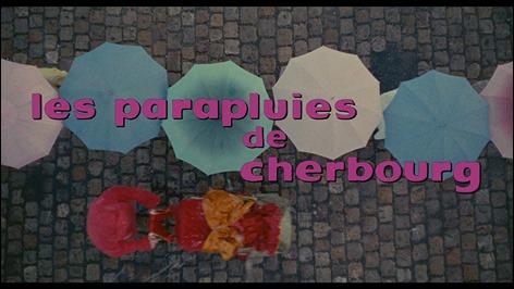 Los maravillosos creditos de Los paraguas de Cherburgo