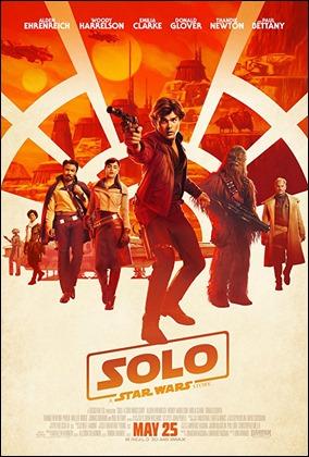 Cartel de Han Solo, una historia de Star Wars