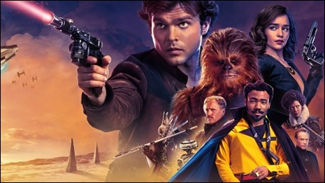 El cartel de Han Solo, old fashioned