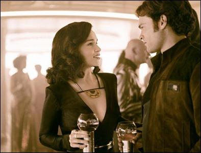 Emilia Clarke es Q'ira, la amada del joven Han Solo
