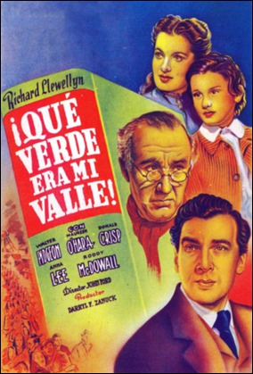 Que verde era mi valle, version de John Ford
