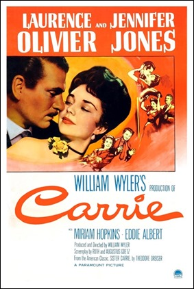 Carrie, pelicula de William Wyler