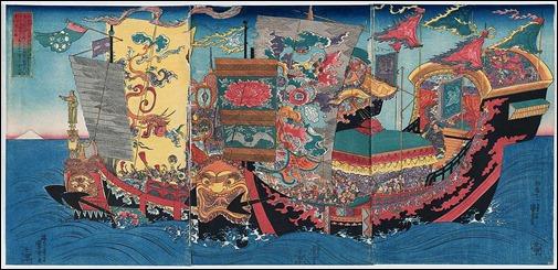 La expedicion de Xu Fu, impulsada por el primer emperador