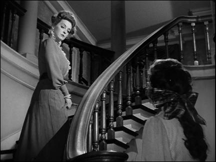 Wyler y las escaleras, en La loba