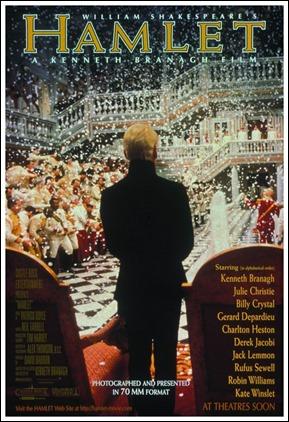 Cartel del Hamlet de Kenneth Branagh