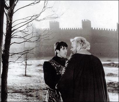 El principe Hal y Falstaff, en Campanadas a medianoche, de Welles