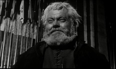 Falstaff, incomparable Orson Welles