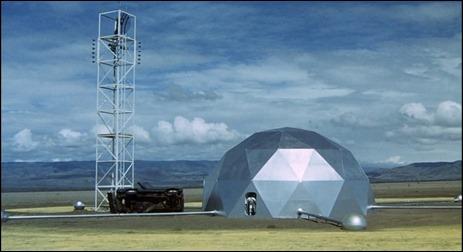 El domo de los dos cientificos, en Sucesos en la IV fase