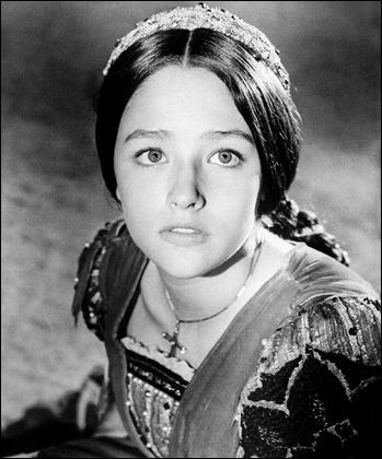 Esplendida Olivia Hussey en el Romeo y Julieta de Zeffirelli