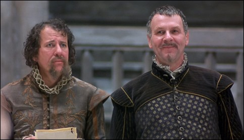 Geoffrey Rush y Tom Wilkinson, memorables en Shakespeare enamorado