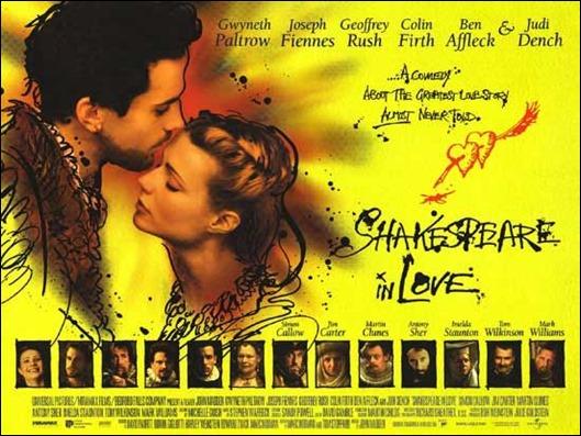 Poster de Shakespeare enamorado