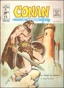 Tambien Conan estuvo en Vertice. Portada de Lopez Espi