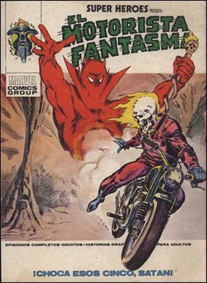 El Motorista Fantasma, en Super Heroes, por Lopez Espi