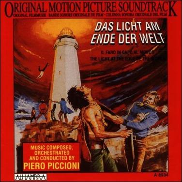 La portada del disco de Piero Picioni con su musica apra La luz del fin del mundo