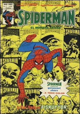 Primer numero Vertice a todo color, de Spider-Man