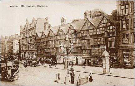 Antiguo grabado de Londres