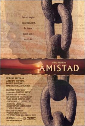 Cartel de Amistad, de Spielberg