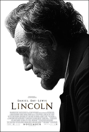 Cartel de la pelicula Lincoln, de Spielberg