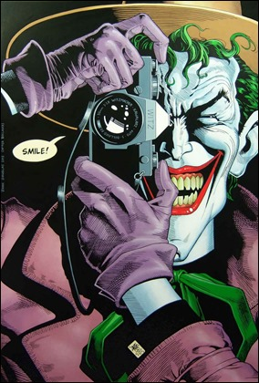 El Joker, variante de Domingo en el tebeo de superheroes