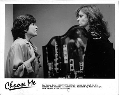 Las dos actrices de Eligeme, Genevieve Bujold y Lesley Ann Warren