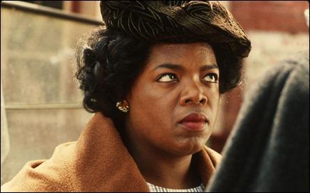 Oprah Winfrey, en El color purpura