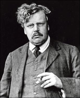 Una imagen de juventud de Gilbert Keith Chesterton