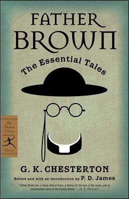 Edicion inglesa de los cuentos del Padre Brown