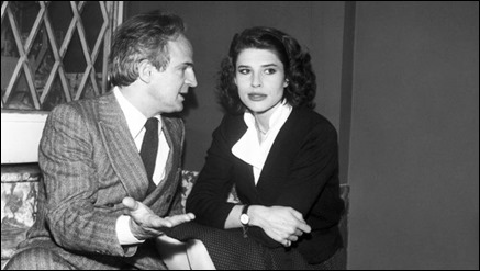 Ardant y Truffaut, unidos en la vida y en el arte