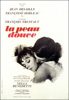 La piel suave, magnifica pelicula de Truffaut