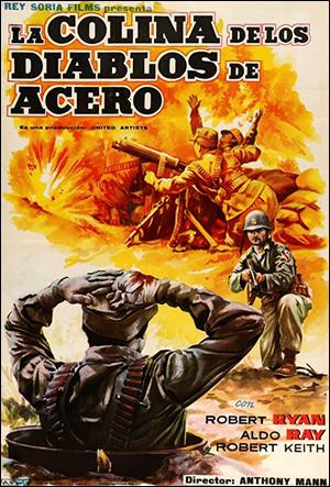 Cartel español de Men in Arms