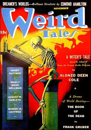 Mitica cubierta de Weird Tales de septiembre de 1941, por Hannes Bok