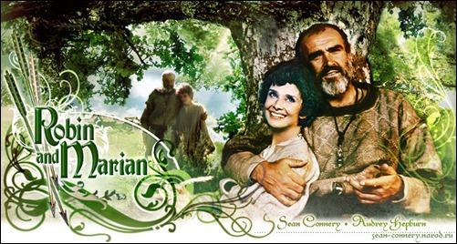 Curioso cartel de Robin y Marian