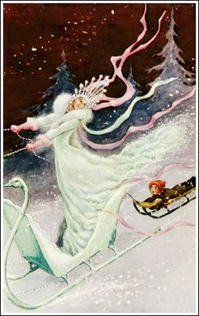 La reina de las nieves, ilustracion de Rudolf Koivun