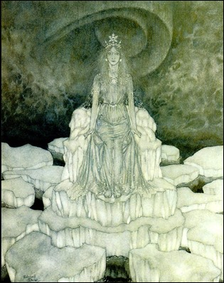 La reina de las nieves, versión de Edmond Dulac