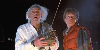 Docy y Marty, los viajeros del tiempo