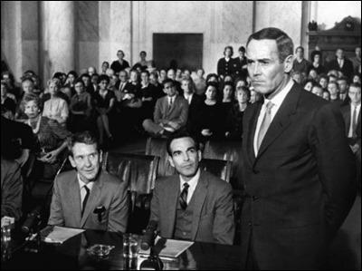La declaracion de Henry Fonda ante el subcomite del senado