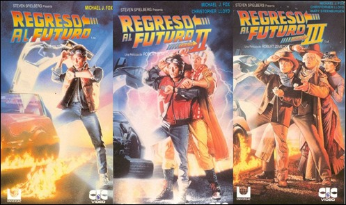 La saga completa de Regreso al futuro