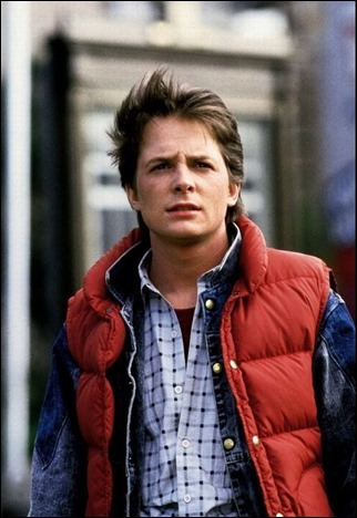 Michael J. Fox es Marty McFly