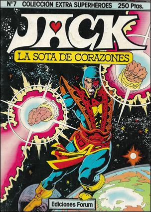 Sota de Corazones Extra Superheroes