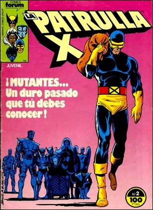 La Patrulla-X, en su edicion espanola de Forum