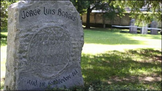 La tumba de Borges en Ginebra