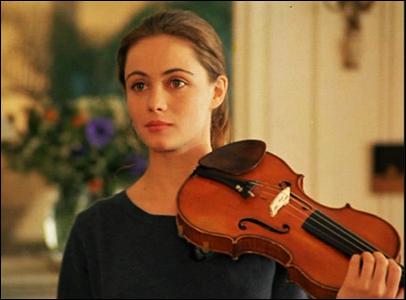Maravillosa Emmanuelle Beart en Un corazon en invierno