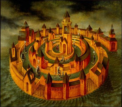 Transito en espiral, de Remedios Varo, la imagen de mi blog