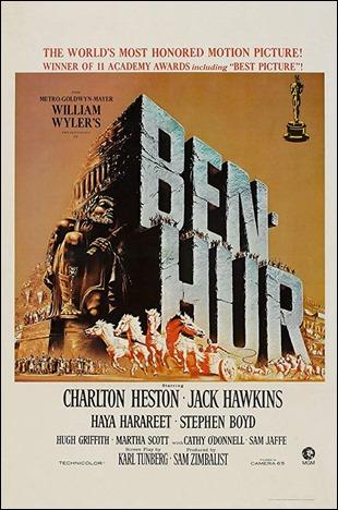 Cartel de Ben-Hur, version Wyler